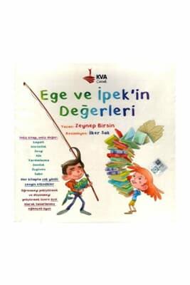 Ege Ve İpek'in Değerleri 8 Kitap Set - Kva Çocuk