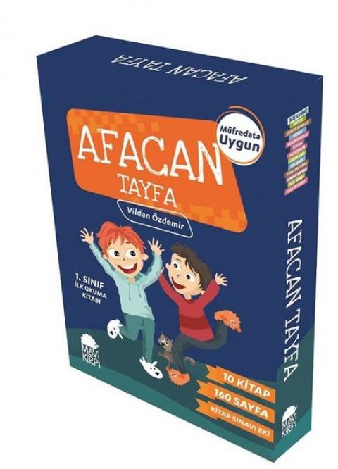 Afacan Tayfa 1. Sınıf İlk Okuma Seti-10 Kitap Takım