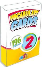 Afs Yayıncılık İngilizce 2. Sınıf Vocabulary Card