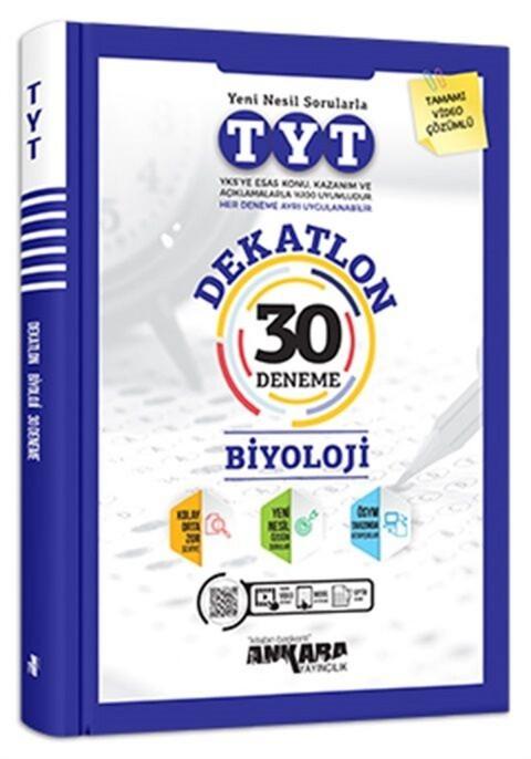 Ankara Yayıncılık Dekatlon TYT Biyoloji 30 Deneme