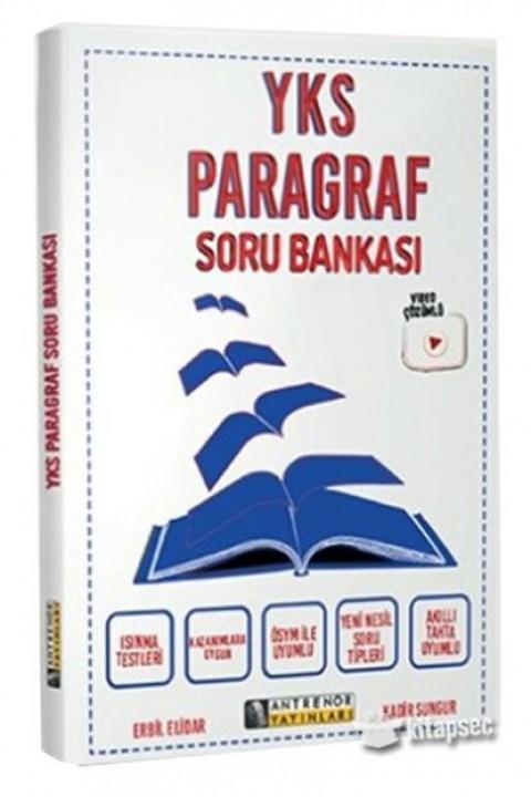 Antrenör Yayınları YKS Paragraf Soru Bankası