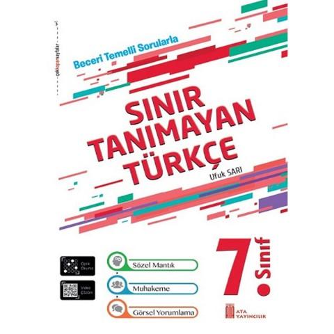 Ata Yayıncılık 7. Sınıf Sınır Tanımayan Türkçe Beceri Temelli Sorular
