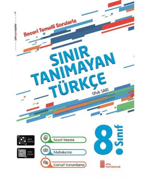 Ata Yayıncılık 8. Sınıf Sınır Tanımayan Türkçe Beceri Temelli Sorular