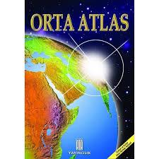 Ata Yayıncılık Coğrafya Orta Atlas (Dilsiz Türkiye ve Dünya Haritası Hediyeli)