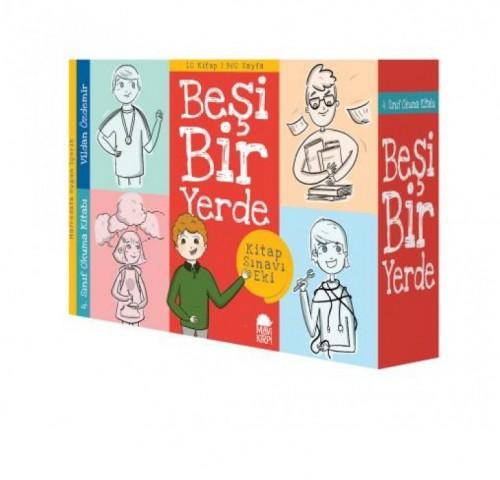 Beşi Bir Yerde 12 Kitap Takım Vildan Özdemir Mavi Kirpi Yayınları