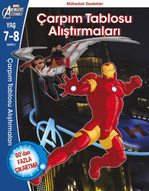 Beta Kids Avengers Çarpım Tablosu Alıştırmaları 7-8 Yaş