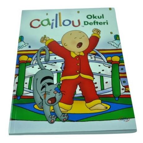 Calliou 3 Adet A5 Kareli 60 Yaprak Defter (3 Adet Defter İçermektedir)
