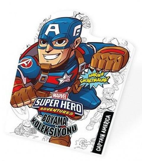 Captain Amerika - Marvel Süper Kahramanlar Boyama Koleksiyonu