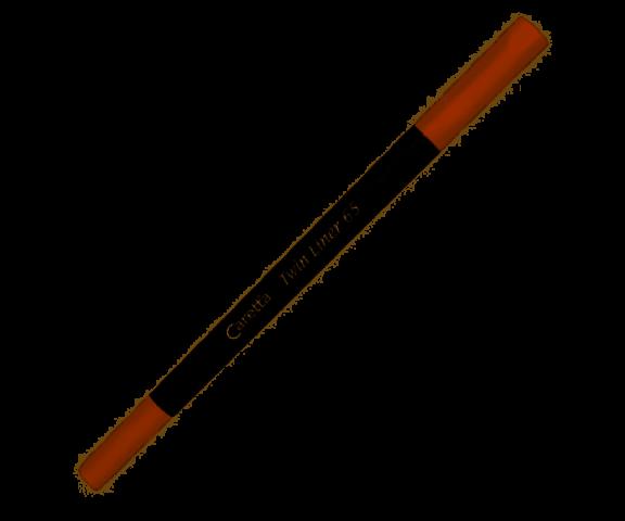 Caretta Twin Fineliner Çift Taraflı Kahverengi