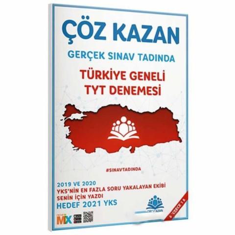 Çöz Kazan Yayınları Türkiye Geneli TYT Denemesi