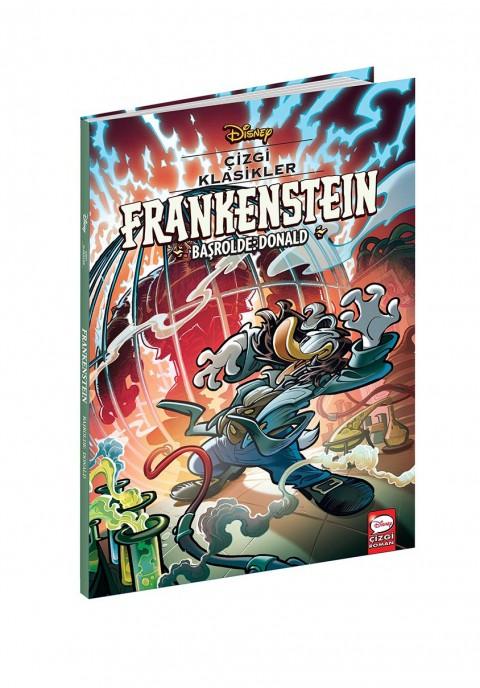 Disney Çizgi Klasikler Frankenstein Başrolde Donald - Çizgi Roman