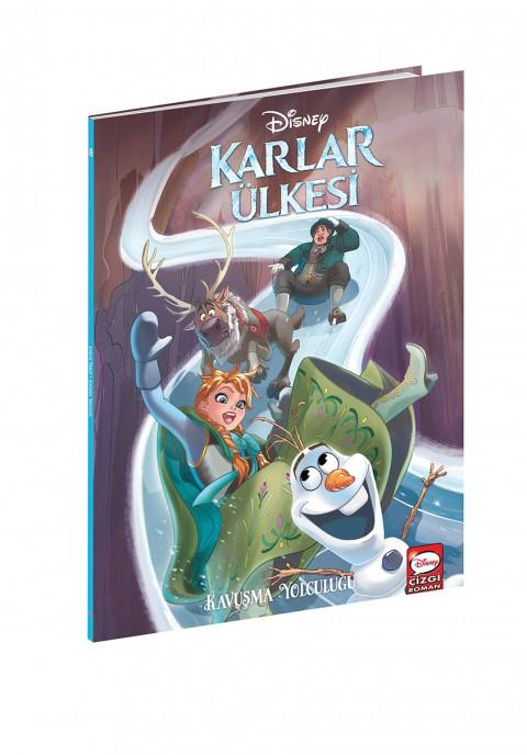 Disney Çizgi Klasikler Karlar Ülkesi Frozen Kavuşma Yolculuğu - Çizgi Roman