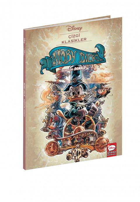 Disney Çizgi Klasikler Moby Dick Başrolde Donald - Çizgi Roman