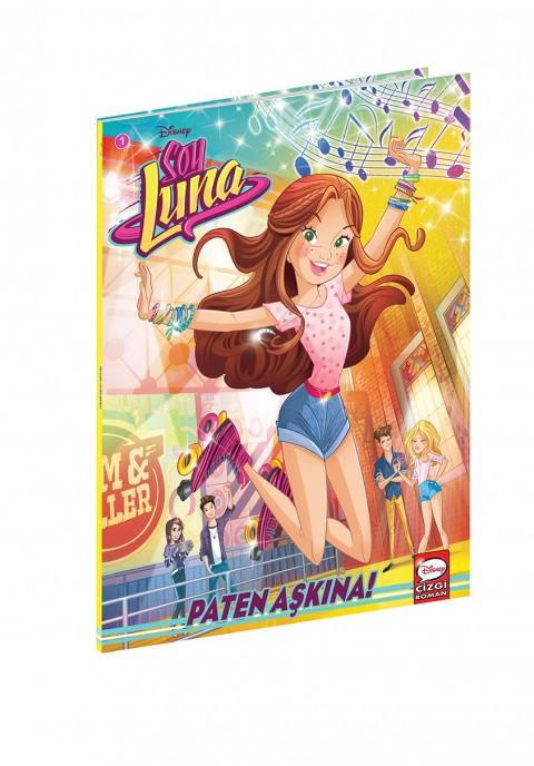 Disney Çizgi Klasikler Soy Luna Paten Aşkına 1 - Çizgi Roman