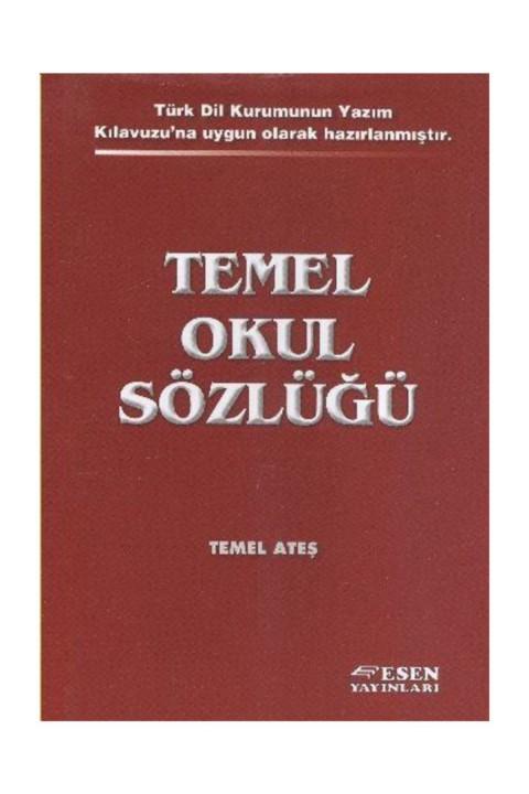 Esen Yayınları Temel Okul Sözlüğü TDK Uyumlu