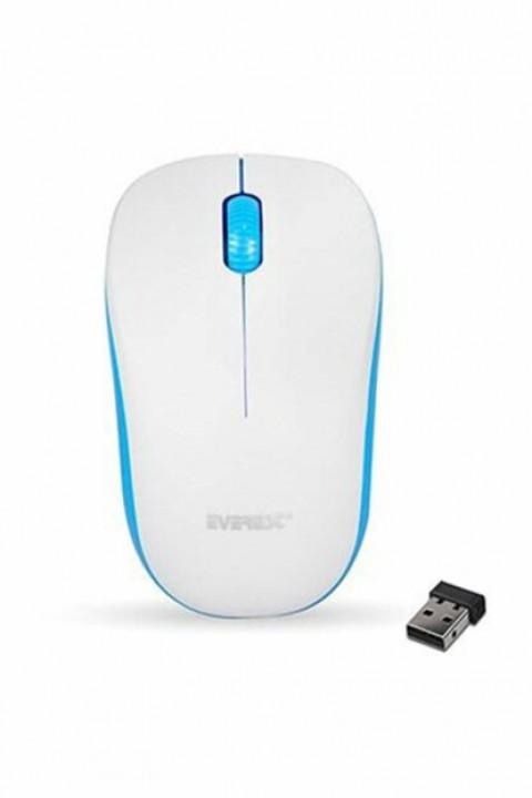 Everest Sm-165 Kablosuz Mouse Beyaz Mavi