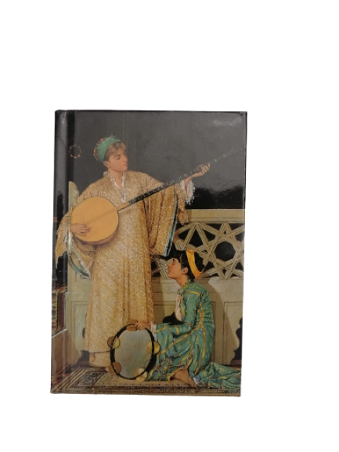 Floria Osman Hamdi Bey: İki Müzisyen Kız 9x13,5 cm 96 Yaprak Çizgili Defter