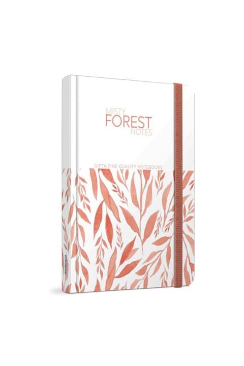 Gıpta Forest Dikişli Sert Kapak 13*21cm Çizgili Defter 120 Yaprak