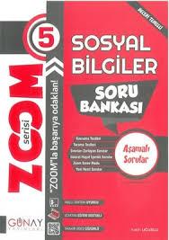 Günay Yayınları 5. Sınıf Zoom Serisi Sosyal Bilgiler Soru Bankası