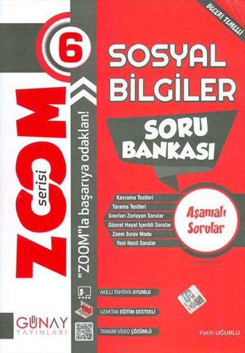 Günay Yayınları 6. Sınıf Zoom Serisi Sosyal Bilgiler Soru Bankası