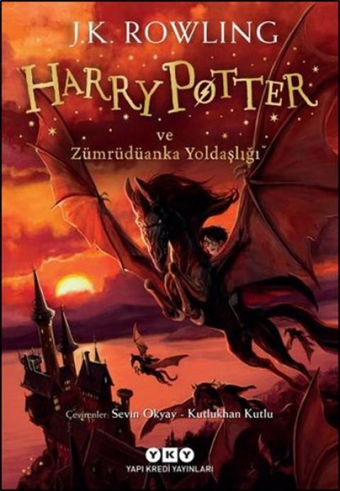 Harry Potter ve Zümrüdüanka Yoldaşlığı - J.K. Rowling