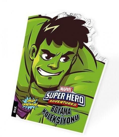 Hulk - Marvel Süper Kahramanlar Boyama Koleksiyonu
