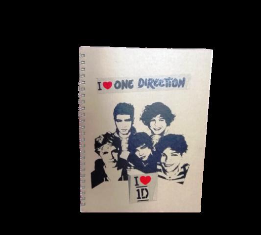 Keskin Color One Direction 16,5x22,5 Funky Sert Kapak Kareli Defter