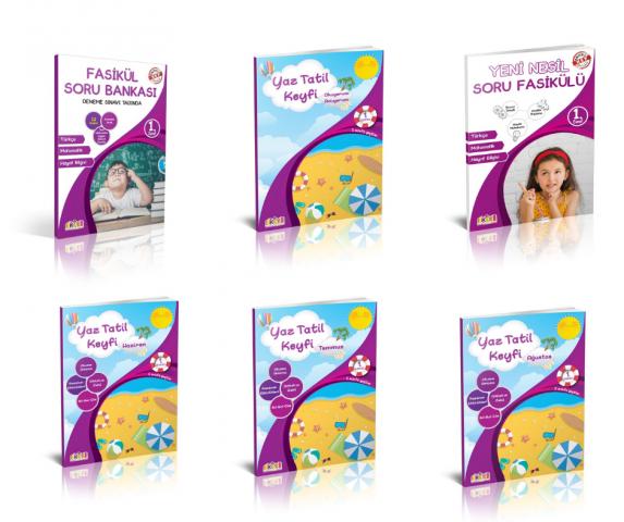 Key Yayınları 1. Sınıf Yaz Tatil Keyfi Seti