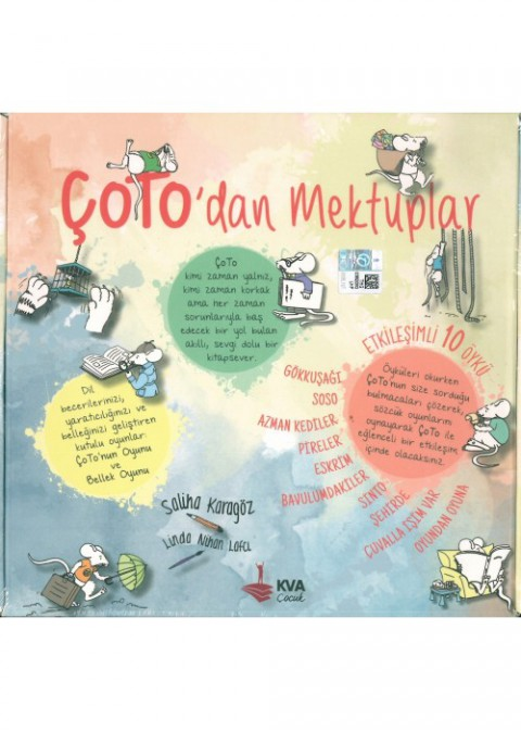 Koray Varol Çocuk 2. Sınıf Çoto'dan Mektuplar 10 Kitap