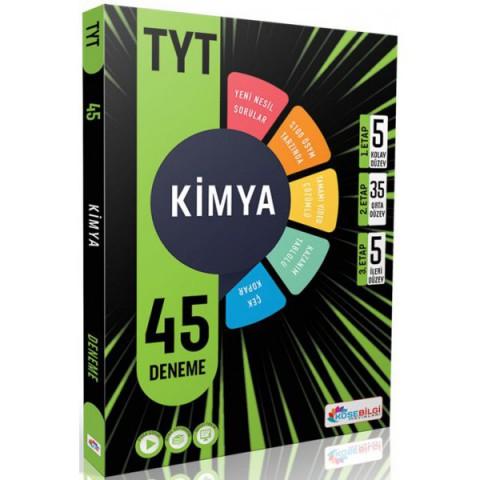 Köşebilgi TYT Kimya 45 Branş Deneme Video Çözümlü