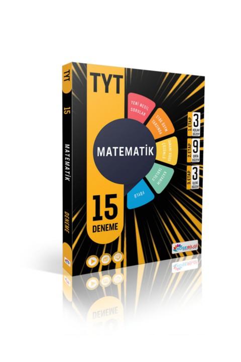Köşebilgi TYT Matematik 15 Branş Deneme Video Çözümlü