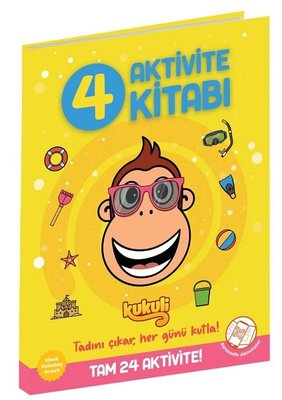 Kukuli Aktivite Kitabı 4 Beta Kids