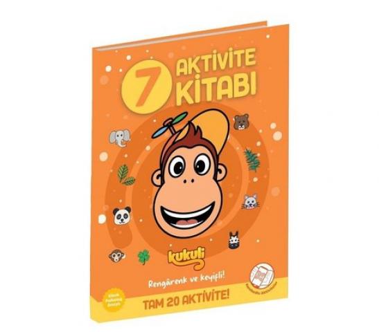 Kukuli Aktivite Kitabı 7 Beta Kids