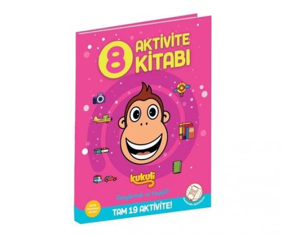 Kukuli Aktivite Kitabı 8 Beta Kids