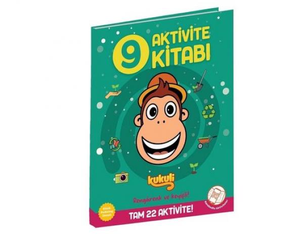 Kukuli Aktivite Kitabı 9 Beta Kids