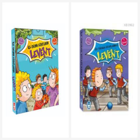 Levent İlk Okuma Kitaplarım 1 ve 2 Tam Set - Timaş Çocuk