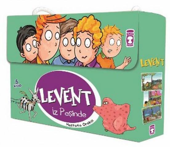 Levent İz Peşinde - Timaş Çocuk 5 Kitap Set