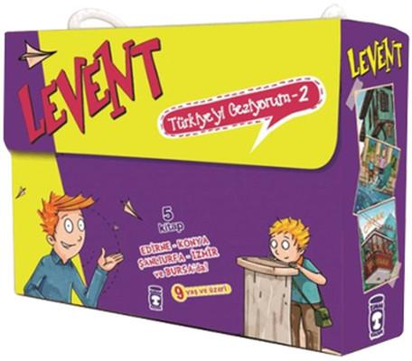 Levent Türkiyeyi Geziyorum - 2 5 Kitap Set