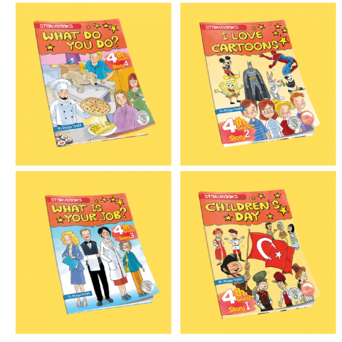 Lingus Education 4. Sınıf Group Story Books Seti 4 Kitap
