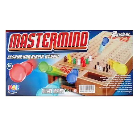 Mastermind Efsane Kod Kırma Oyunu - Ahşap