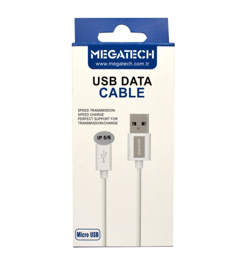 Megatech Iphone USB Şarj Kablosu