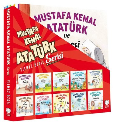Mustafa Kemal Atatürk Yılmaz Özdil - 10 Kitap Takım