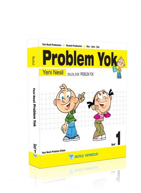 Mutlu Yayıncılık 1. Sınıf Yeni Nesil Problem Yok
