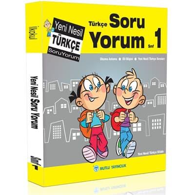 Mutlu Yayıncılık 1. Sınıf Yeni Nesil Türkçe Soru Yorum
