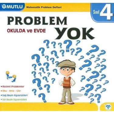 Mutlu Yayıncılık 4. Sınıf Okulda ve Evde Problem Yok