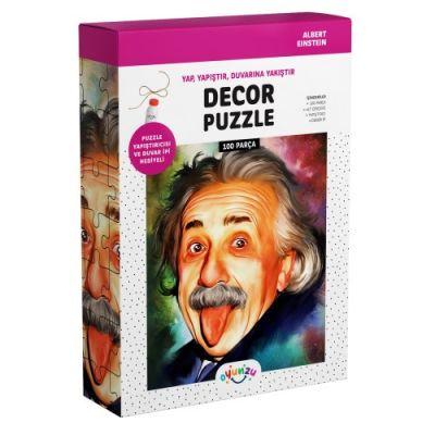 Oyunzu Albert Einstein Dekor Puzzle 100 Parça