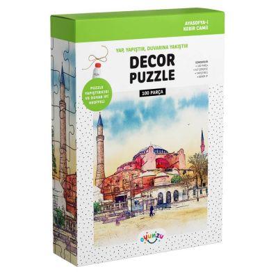 Oyunzu Ayasofya-i Kebir Camii Dekor Puzzle 100 Parça