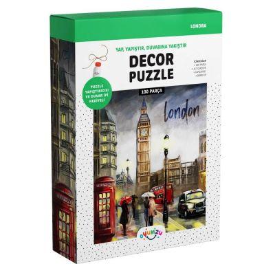 Oyunzu Londra Dekor Puzzle 100 Parça