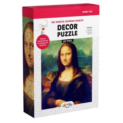 Oyunzu Mona Lisa Dekor Puzzle 100 Parça