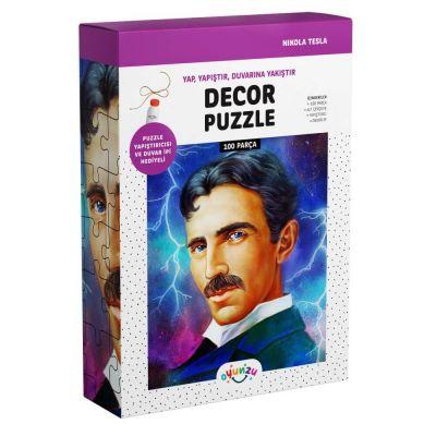Oyunzu Nikola Tesla Dekor Puzzle 100 Parça